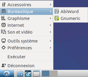Lubuntu 15 menu bureautique.png