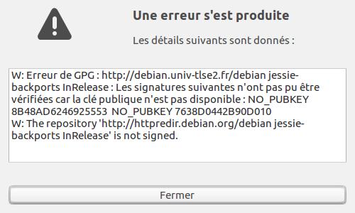 Lubuntu 25 synaptic 06 erreur.png