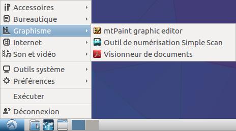 Lubuntu 16 menu graphisme.png