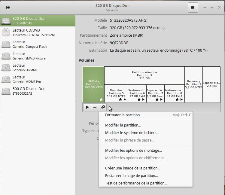 Mint 51 disque option démarrage.png