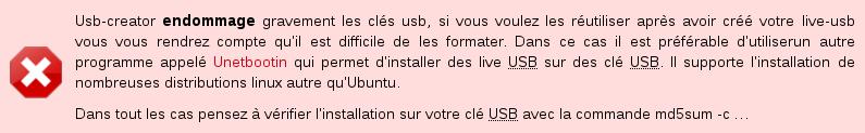 V 45 créateur d'image USB attention.png
