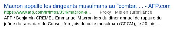 AFP 21 juin 2017 Macron ramadan .png