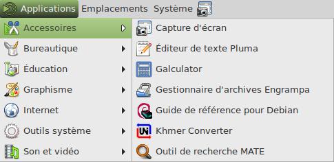 Debian9 menu accessoires s.png