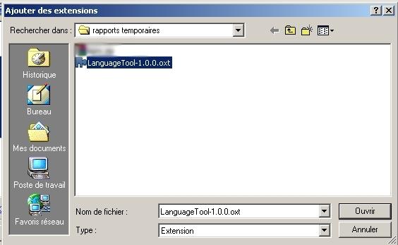 Correcteur grammatical pour open office windows et ses logiciels - Logiciel comme open office ...